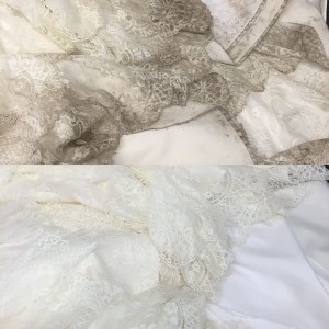 wedding dress cleaning