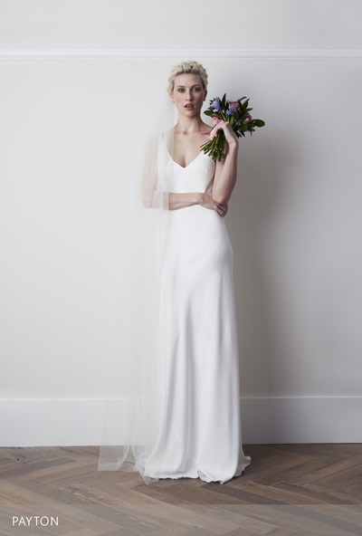 Sleek and minimalist wedding dresses for modern brides for How to clean your own wedding dress