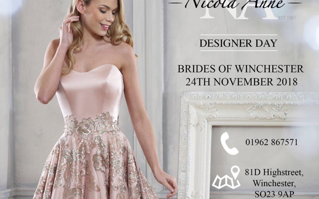 Nicola Anne Designer Day 24 November 2018