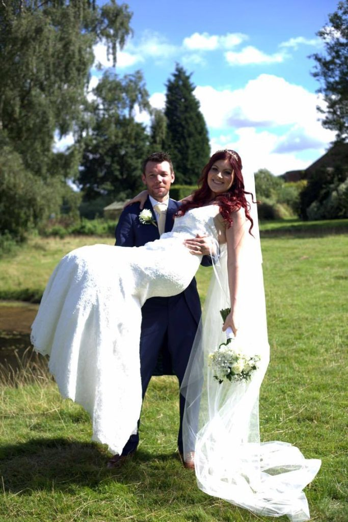 Brides of winchester wedding dress coco chanticleer