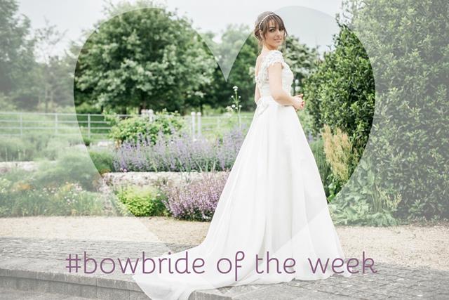 #bowbride Rhiannon in Alexandra by Sassi Holford