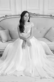 Designer Wedding Dress By Suzanne Neville