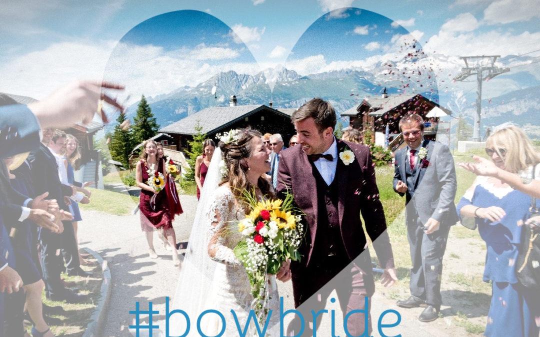 BOW bride Tanya in wedding dress Driate by Pronovias