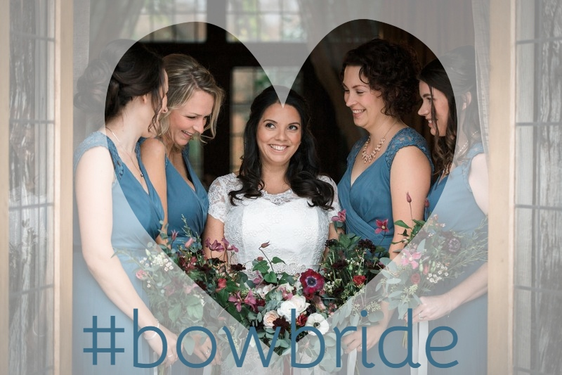 #BOWbride Tara in Devoted wedding dress by Nicola Anne at Rivervale Barn
